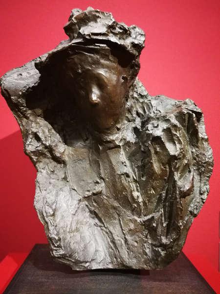 "Medardo Rosso, Neuaufstellung Leopold Museum: ""Wien 1900"", Foto: Alexandra Matzner | ARTinWORDS"