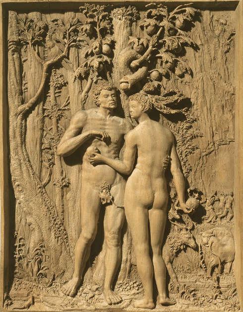 Meister I. P., Sündenfall, 1521 (© Belvedere, Wien)