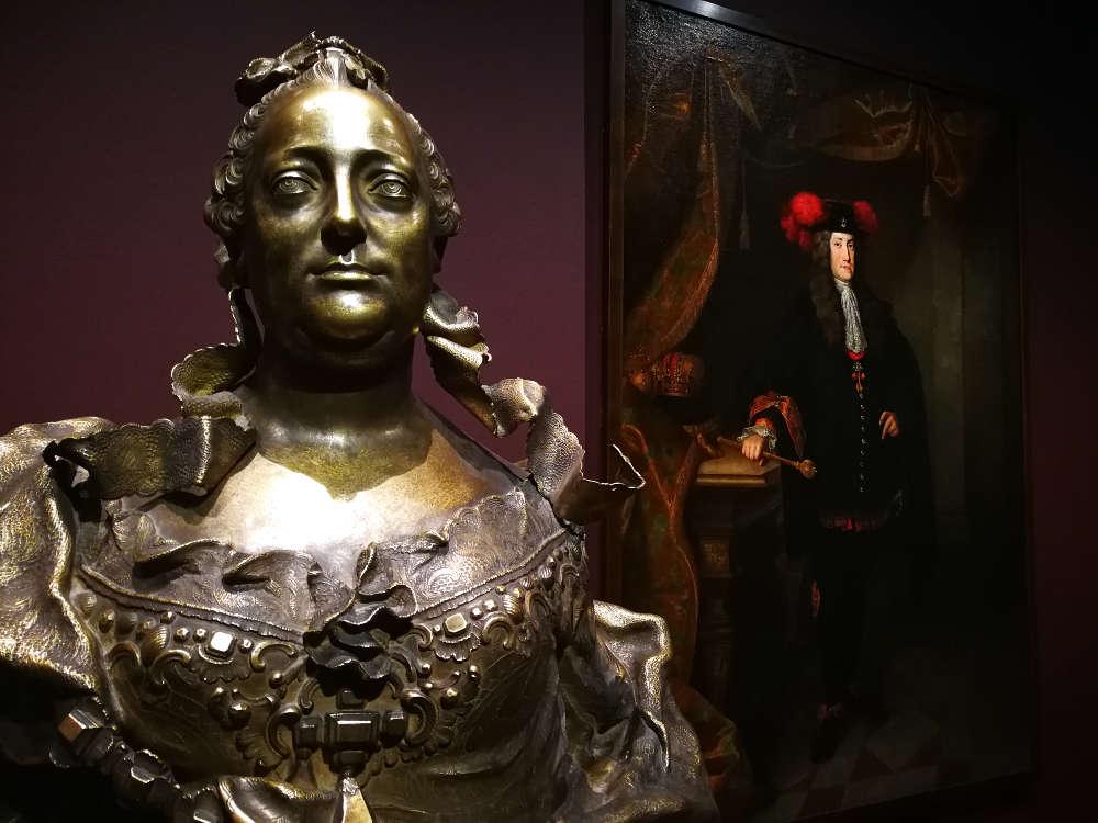 Einblick in die Ausstellung Maria Theresia und die Kunst im Unteren Belvedere 2017, Foto: Alexandra Matzner, ARTinWORDS