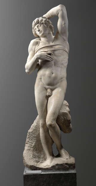 Michelangelo Buonarroti, Sterbender Sklave (Paris, Musée du Louvre department des Sculptures Musee du Louvre Musee du Louvre, dist RMN Grand Palais Raphael Chipault)