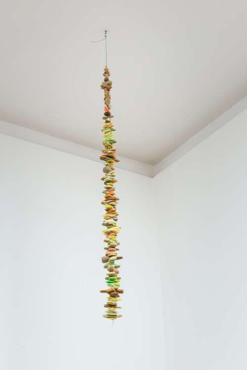 Mirosław Bałka, 127 x 10 x 10, 1993/2015, Seife, Stahl, 127 x 10 x 10 cm (Courtesy der Künstler und Dvir Gallery, Tel Aviv und Brüssel)