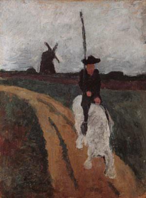 Paula Modersohn-Becker, Don Quichotte, 1900 (Paula-Modersohn-Becker-Stiftung, Bremen)