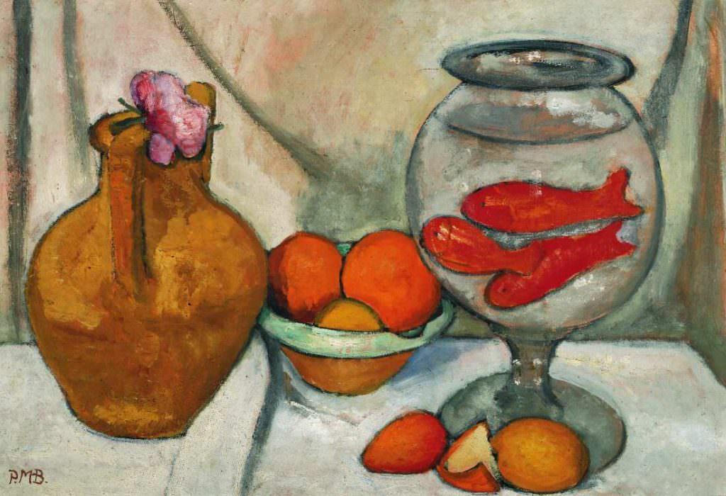 Paula Modersohn-Becker, Stillleben mit Goldfischglas, 1906 (Von der Heydt-Museum, Wuppertal)