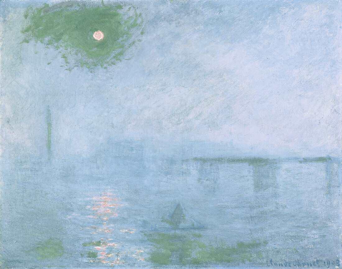 Claude Monet In Der Fondation Beyeler