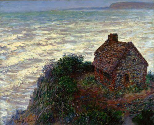 Claude Monet, Das Zollhäuschen, 1882, Öl/Lw, 61 × 74.9 cm (Harvard Art Museums / Fogg Museum, Bequest of Annie Swan Coburn, 1934.27 © President and Fellows of Harvard College, Cambridge, Massachusetts)