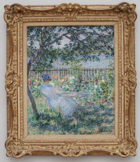 Claude Monet, La Terrasse à Vétheuil [Die Terrasse in Vétheuil], 1881, Öl auf Leinwand, 81 x 65 cm (Privatsammlung, Foto: Alexandra Matzner, ARTinWORDS)