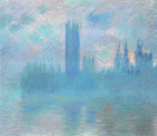Claude Monet, Houses of Parliament [Parlament], 1900–1901, Öl/Lw, 81,2 x 92,8 cm (Art Institute of Chicago, Mr. and Mrs. Martin A. Ryerson Collection, 1933.1164)