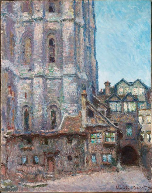 Claude Monet, La Cour d'Albane, 1892, Öl/Lw, 92 × 73 cm (Smith College of Art Northampton, Massachusetts, Gift of Adeline Flint Wing, class of 1898, and Caroline Roberta Wing, class of 1896 (1956.24) Smith College of Art Northampton, Massachusetts)