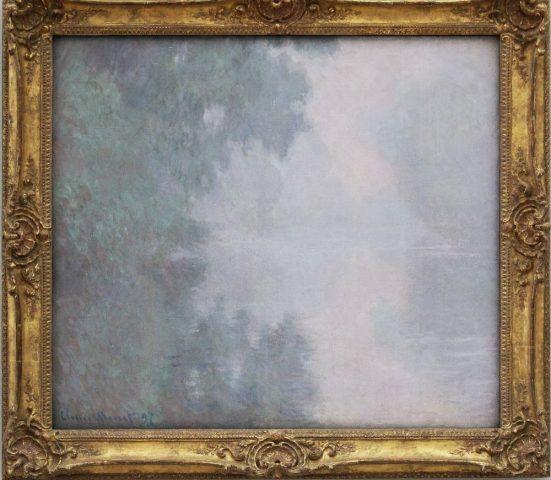 Claude Monet, Matinée sur la Seine [Vormittag auf der Seine], 1897, Öl auf Leinwand, 81,9 x 93,3 cm (Mead Art Museum, Amherst College, Massachusetts, Vermächtnis Miss Susan Dwight Bliss, 1966, Foto: Alexandra Matzner, ARTinWORDS)