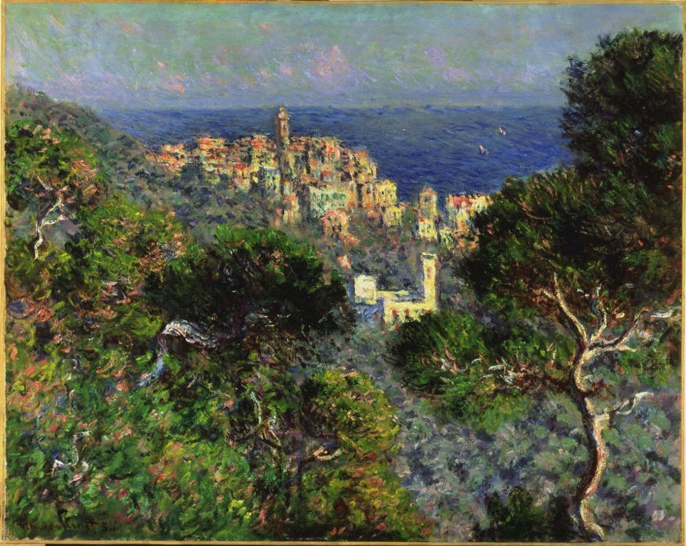 Claude Monet, Vue de Bordighera, 1884, Öl/Lw, 66 × 81.8 cm (The Armand Hammer Collection, Gift of the Armand Hammer Foundation. Hammer Museum, Los Angeles (AH.90.47) © Hammer Museum, Los Angeles, CA)