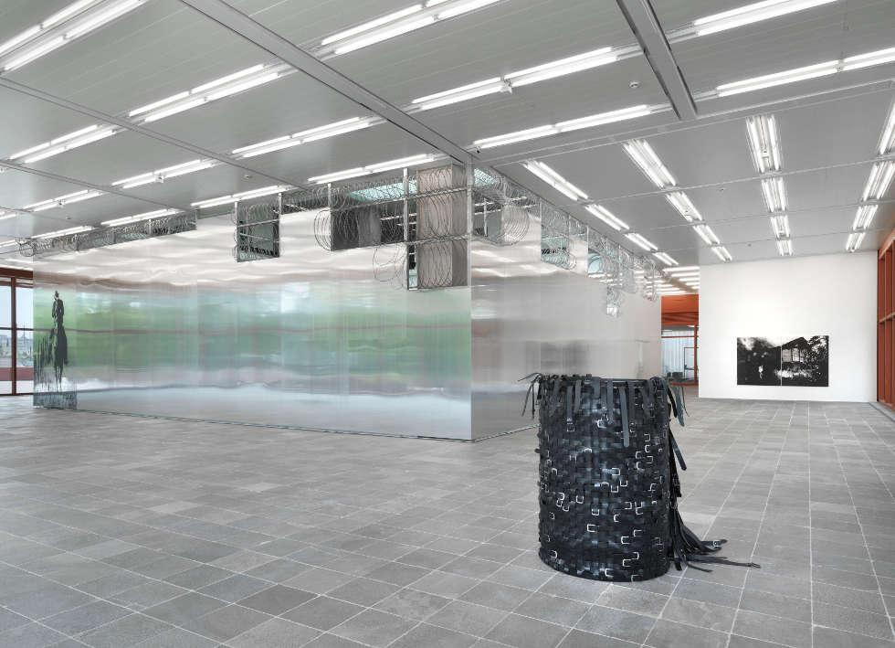 Monica Bonvicini. I CANNOT HIDE MY ANGER, Ausstellungsansicht Belvedere 21, 2019, Foto: Jens Ziehe, © Monica Bonvicini und Bildrecht Wien
