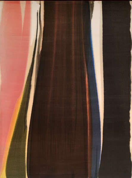 Morris Louis, Quo Numine Laeso, 1959 (Albertina, Wien. Leihgabe E. Ploil)