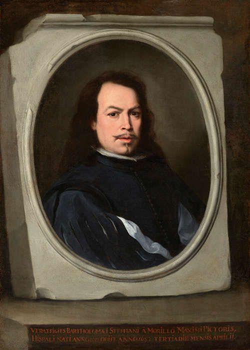 Bartolomé Esteban Murillo, Selbstporträt, um 1650–1655, Öl/Lw, 107 x 77.5 cm (The Frick Collection, New York, Gift of Dr. and Mrs. Henry Clay Frick II, 2014 © The Frick Collection, New York)