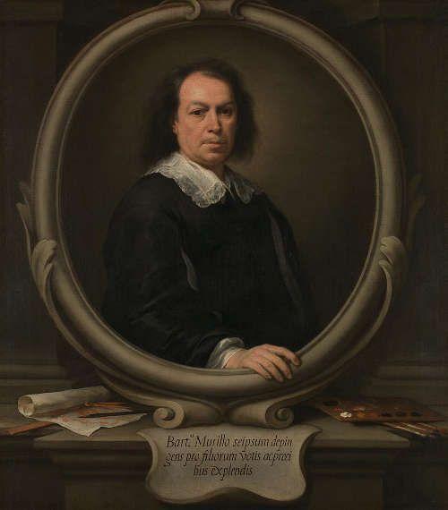 Bartolomé Esteban Murillo, Selbstporträt, vielleicht 1668–1670, Öl/Lw, 122 x 107 cm (© The National Gallery, London)