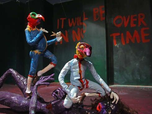 Nathalie Djurberg & Hans Berg, I Wasn't Made to Play the Son, 2011, Stop-Motion-Animation, Video, Musik, 05:57 Min., © Nathalie Djurberg & Hans Berg / VG Bild-Kunst, Bonn 2018