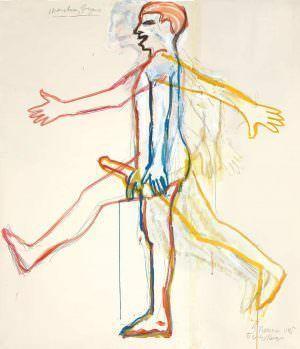 Bruce Nauman, Marching Figure, 1985, Courtesy of Sperone Westwater © VG Bild-Kunst 2016