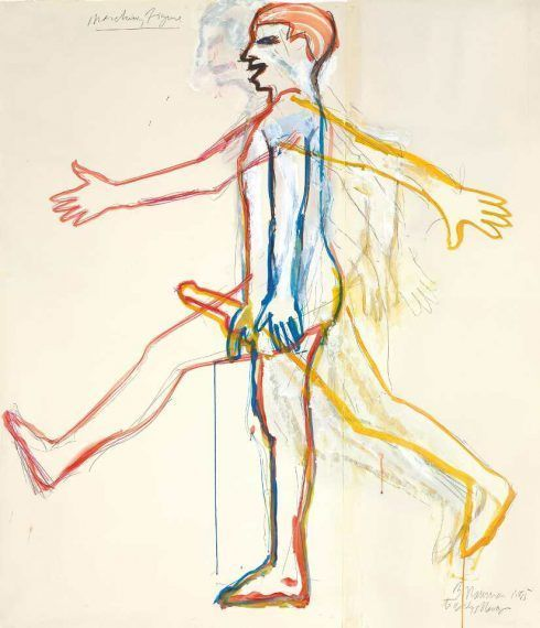 Bruce Nauman, Marching Figure, 1985, Courtesy of Sperone Westwater © VG Bild-Kunst 2016