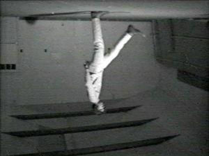 Bruce Nauman, Revolving Upside Down, 1969
