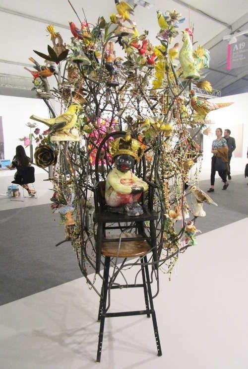 Nick Cave, Untitled, 2012-2014 bei Jack Shainman Gallery © Künstler und Galerie, Foto: Eva Pakisch