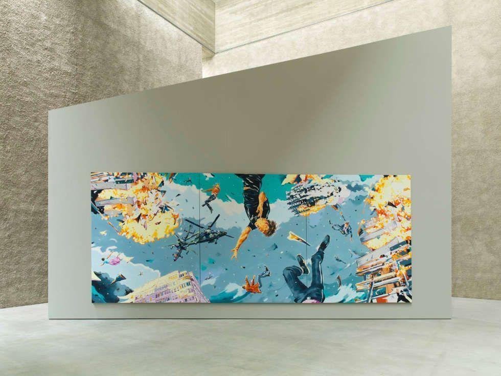 Norbert Bisky, Trilemma, 2017, Ausstellungsansicht KÖNIG GALERIE, Berlin, Foto: Roman März / Courtesy the artist and KÖNIG GALERIE, Berlin/London