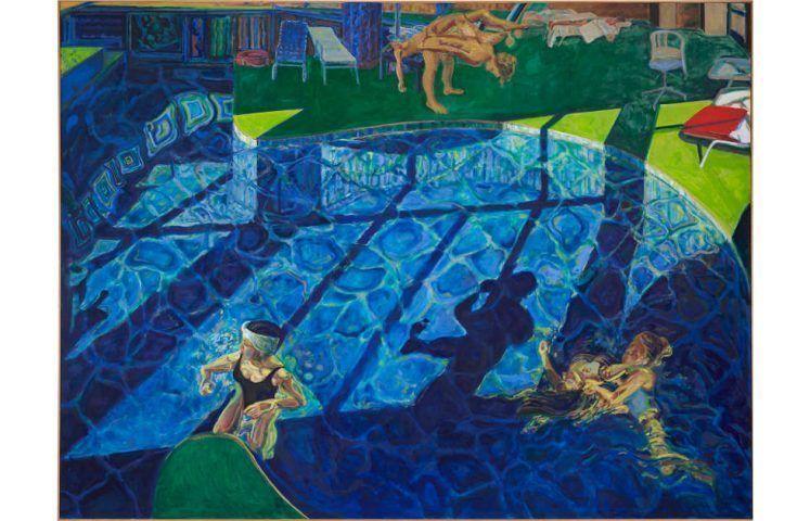 Norbert Tadeusz, Swimmingpool, 1993 (Albertina, Wien, Rafael and Teresa Jablonka Foundation. © VG Bild-Kunst, Bonn 2020. Foto: LWL / Hanna Neander)