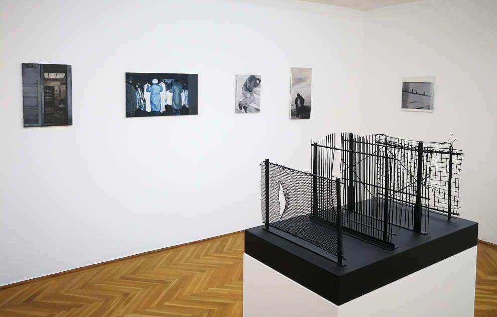 Olga Chernysheva in der Wiener Secession, Grafisches Kabinett, Courtesy die Künstlerin, Foto: Alexandra Matzner, ARTinWORDS.
