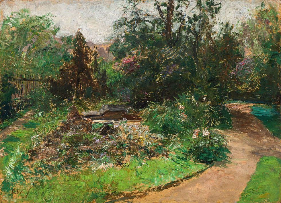 Olga Wisinger-Florian, Garten des Palais Coburg, Giese & Schweiger