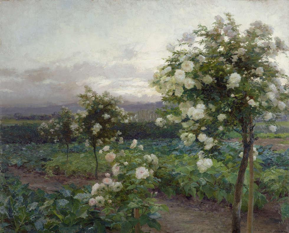 Olga Wisinger-Florian, Sommerabend, 1896 (© Leopold Privatsammlung Foto Leopold Museum, Wien Manfred Thumberger)