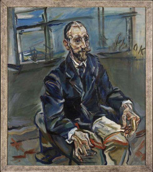 Oskar Kokoschka, Portrait Franz Hauer, um 1914 (© Rhode Island School of Design, Providence / Fondation Oskar Kokoschka / Bildrecht, Wien, 2018)