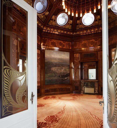 Otto Wagner, Hofpavillon, Einblick in den Wartesalon, Foto: Wolfgang Thaler