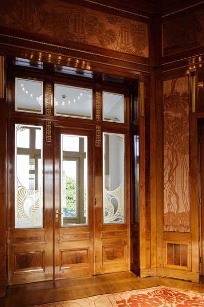 Otto Wagner, Hofpavillon, Fenster, Foto: Wolfgang Thaler
