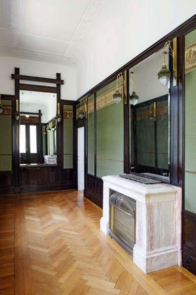 Otto Wagner, Hofpavillon, Wartezimmer, Foto: Wolfgang Thaler