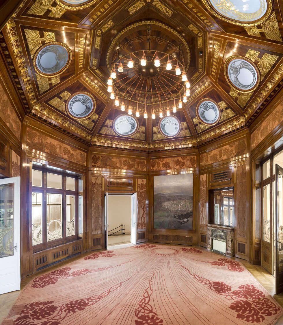 Otto Wagner, Hofpavillon, Wartesalon (c) Foto Thomas Ledl
