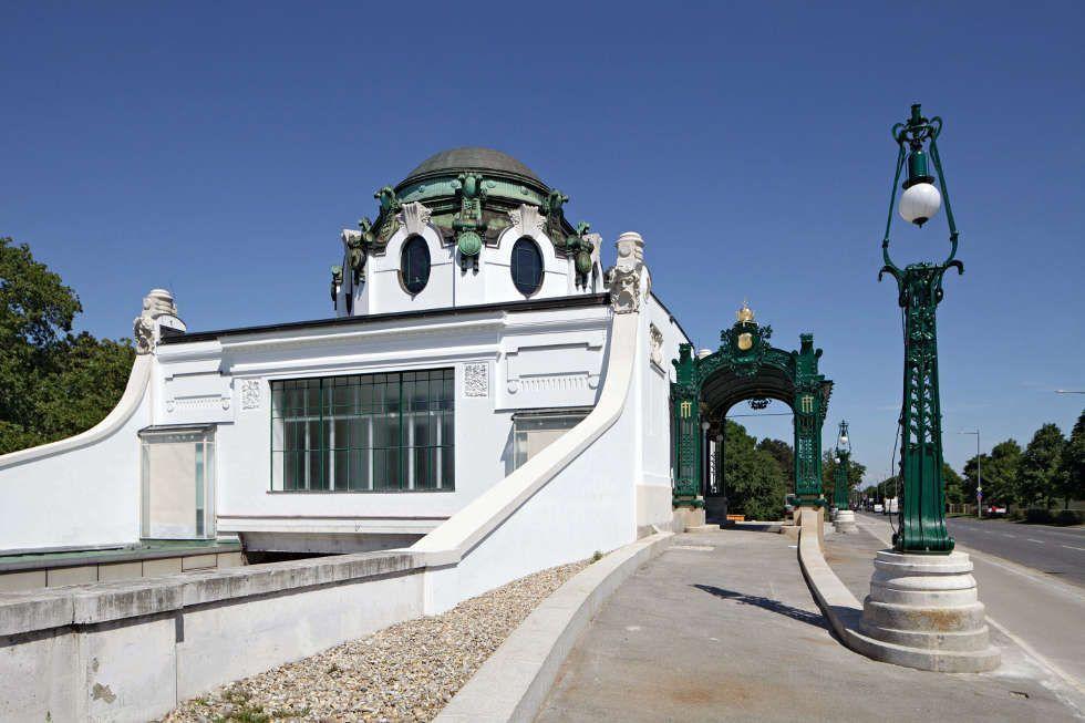 Otto Wagner, Hofpavillon in Hietzing, außen, Foto: Wolfgang Thaler