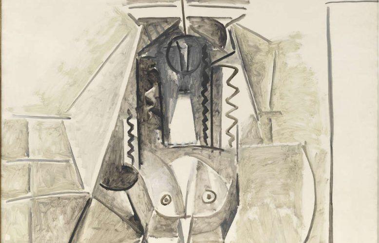 Pablo Picasso, Die Frauen von Algier (Version L), Detail, 1955, Öl auf Leinwand (© Staatliche Museen zu Berlin, Nationalgalerie / Jens Ziehe, © VG Bild-Kunst, Bonn 2019)