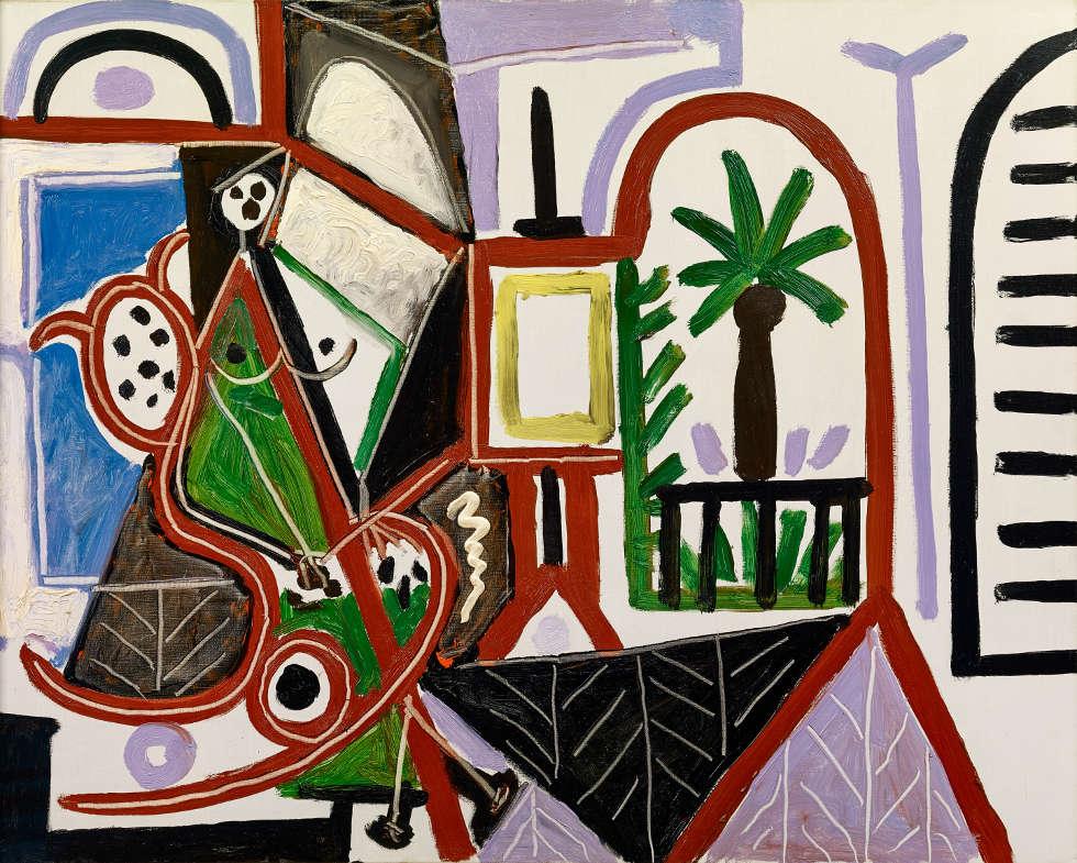 Pablo Picasso, La Californie, 1956, Öl/Lw (Sammlung Catherine Hutin © Succession Picasso/VG Bild-Kunst, Bonn 2019. Foto: Claude Germain)