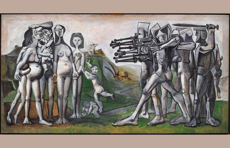Pablo Picasso, Massaker in Korea, 1951 (Musée Picasso Paris)