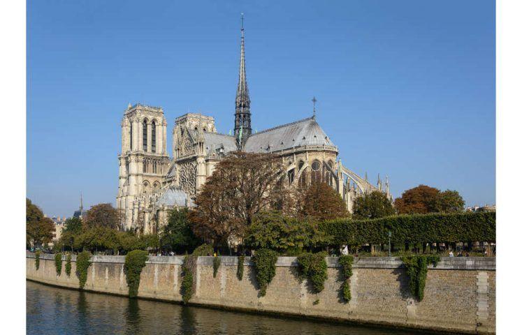 Paris, Notre-Dame, Ansicht von Südosten