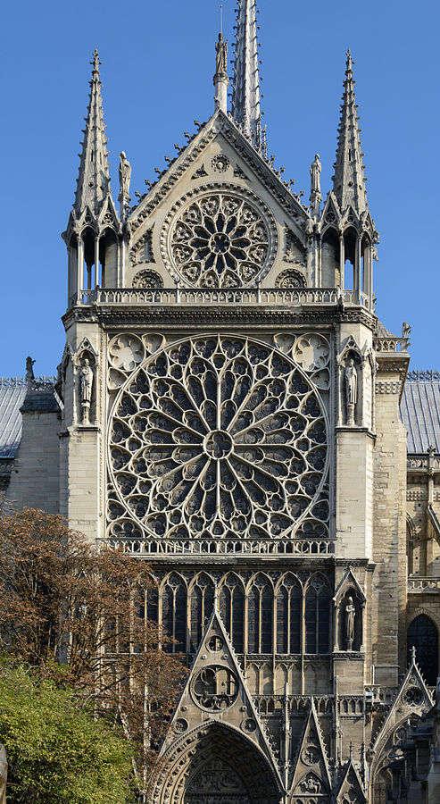 Paris, Notre-Dame, Südquerhaus, außen