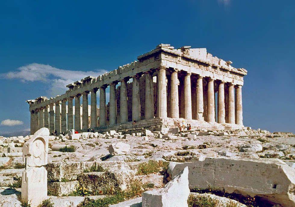 Parthenon Tempel, Akropolis, Athen