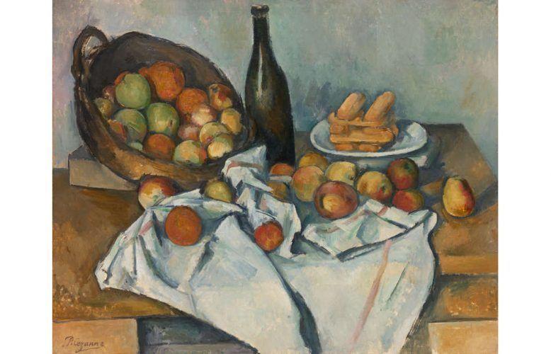 Paul Cézanne, Korb mit Äpfeln, um 1893 (The Art Institute of Chicago, Helen Birch Bartlett Memorial Collection)