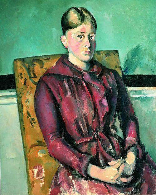 Paul Cézanne, Madame Cézanne im gelben Lehnstuhl,1888–1890 (© Fondation Beyeler Riehen/ Basel | Foto: Peter Schibli)