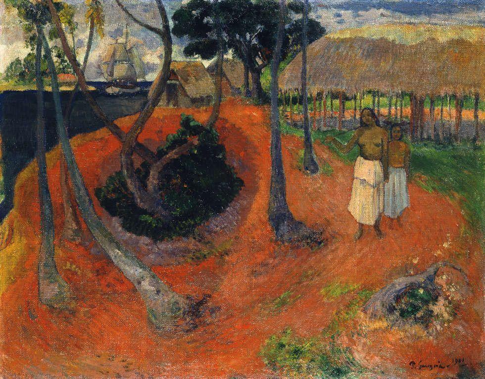 Paul Gauguin, Die Opfergabe, 1902, Öl/Lw, 68,5 x 78,5 cm (© Sammlung Emil Bührle, Zürich, Foto: SIK-ISEA, Zürich (J.-P. Kuhn)
