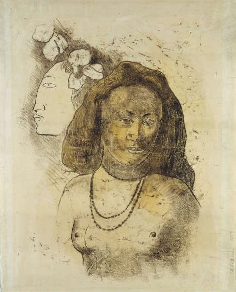 Paul Gauguin, L'Esprit veille, um 1899–1900, Monotypie (Städel Museum, Frankfurt a.M. © bpk/ Städel Museum, Foto: Ursula Edelmann)