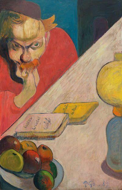 Paul Gauguin, Porträt von Meijer de Haan, 1889, Öl/Holz, 79.6 × 51.7 cm (The Museum of Modern Art, New York. Gift of Mr. and Mrs. David Rockefeller (2.1958) © The Museum of Modern Art/Licensed by SCALA / Art Resource, NY)