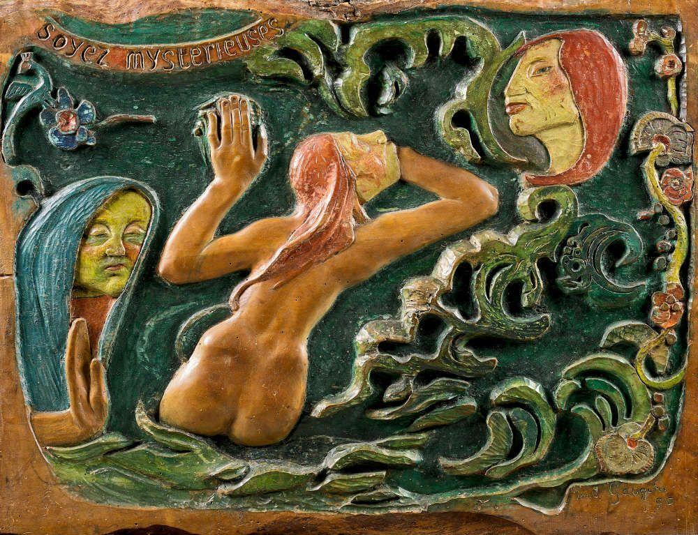 Paul Gauguin, Soyez mystérieuses (Set mysteriös), 1890 (Musée d'Orsay, Paris)