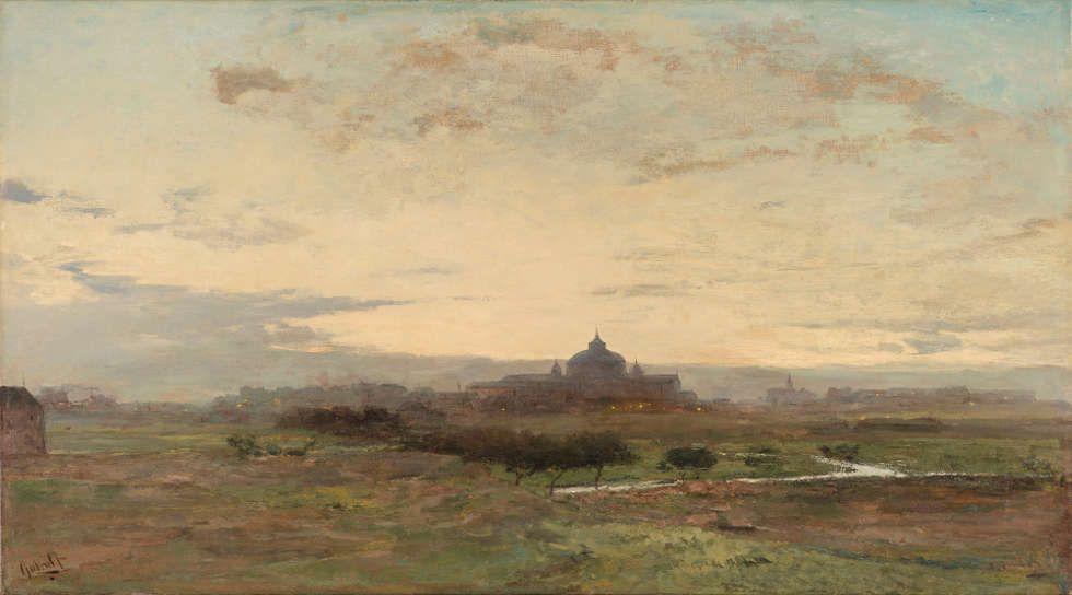 Paul Joseph Constantin Gabriël, Scheveningen, Öl/Lw, 50.1 x 89.7 cm (Gemeentemuseum Den Haag. Gift of Dr. Jan Willem van Dijk, 1949)