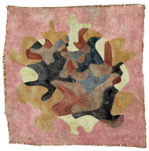Paul Klee, Herbstblätter Straus, 1930, Aquarell, 41 x 39.4 cm (Privatsammlung)