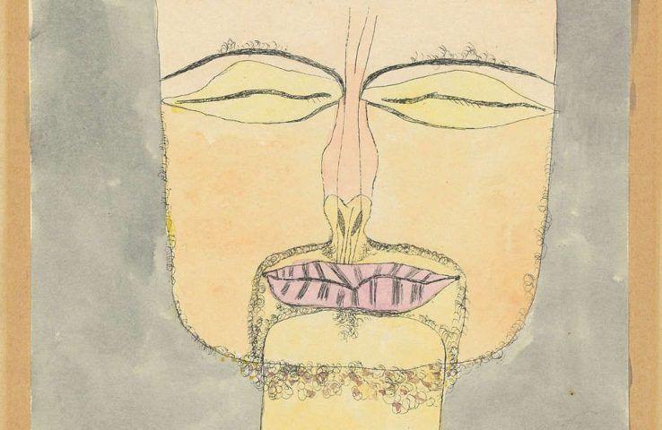 Paul Klee, Nach der Zeichnung 19/75, Detail, 1919, 113, Aquarellierte Lithographie, 22,2 x 16 cm (Zentrum Paul Klee, Bern, Schenkung Livia Klee © Zentrum Paul Klee, Bern, Bildarchiv)