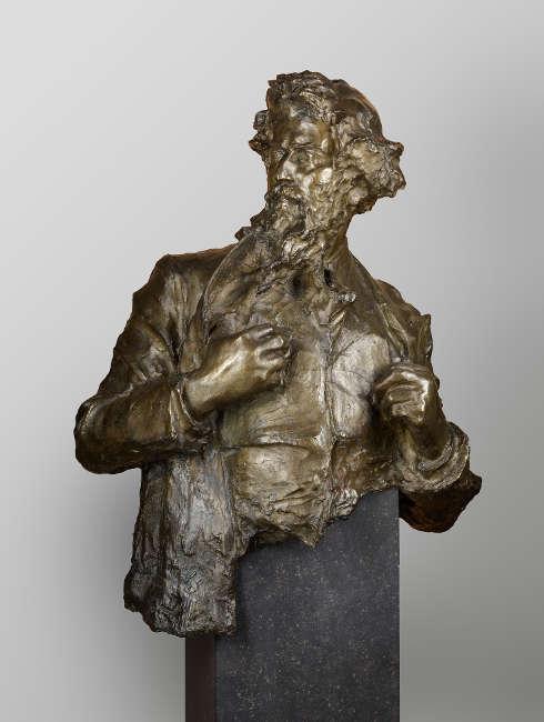 Paul Troubetzkoy, Giovanni Segantini, 1896, Bronze, 98 × 78 × 43 cm (Foto: © Staatliche Museen zu Berlin, Nationalgalerie / Andres Kilger)